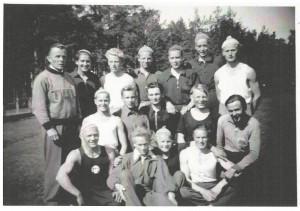 TUL:n urheilijoita Oulun seudulta.